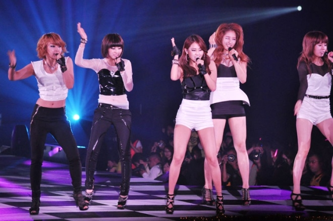 4minute in Japan Girls' Awards